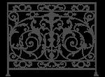 кованая решетка на балкон