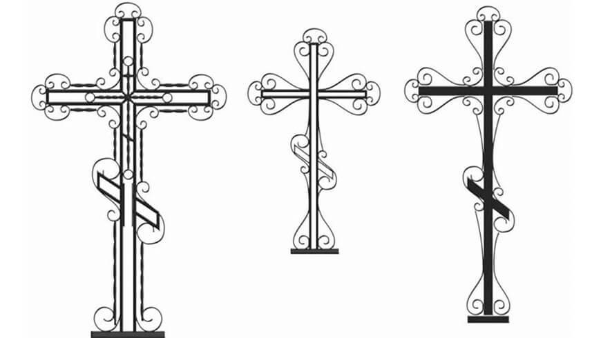 Кованый крест - купить в Минске