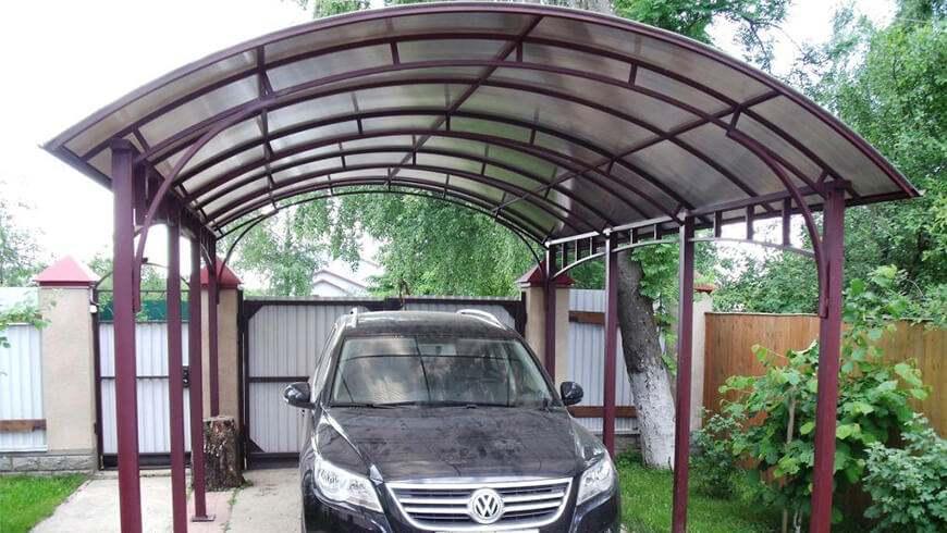 Навесы для машин - купить в Минске