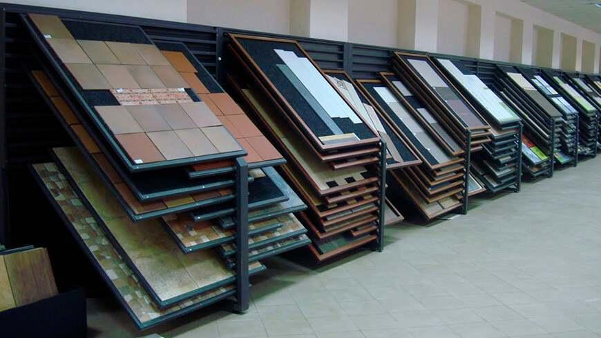 Стенды-экспозиторы для плитки и мозайки в Минске
