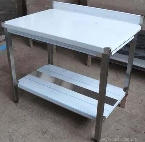 Металлические столы width=
