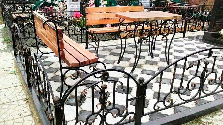 Кованые ритуальные изделия - купить в Минске
