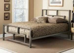 Кровать в стиле ЛОФТ 10