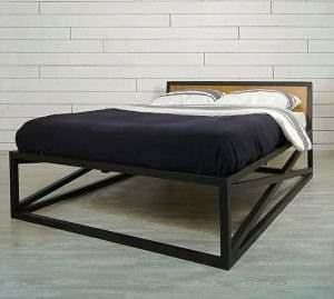 Кровать в стиле ЛОФТ 12