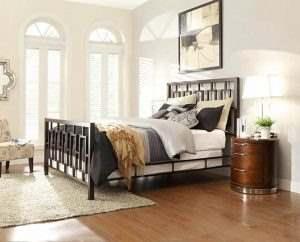 Кровать в стиле ЛОФТ 13