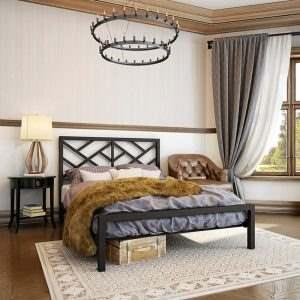 Кровать в стиле ЛОФТ 15