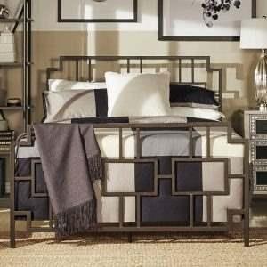 Кровать в стиле ЛОФТ 17