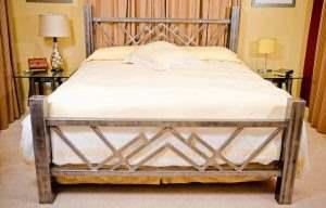 Кровать в стиле ЛОФТ 19