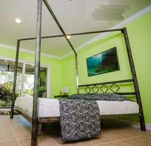 Кровать в стиле ЛОФТ 20
