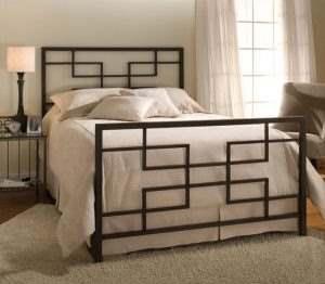 Кровать в стиле ЛОФТ 21