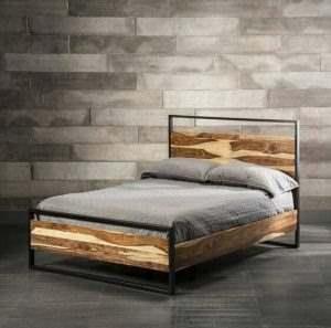 Кровать в стиле ЛОФТ 23