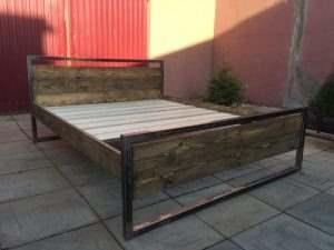 Кровать в стиле ЛОФТ 6