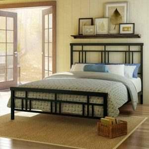 Кровать в стиле ЛОФТ 9