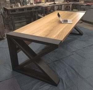 Рабочий стол в стиле лофт 17