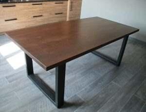 Обеденный стол в стиле лофт 8