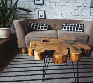 Столы лофт с эпоксидной смолой