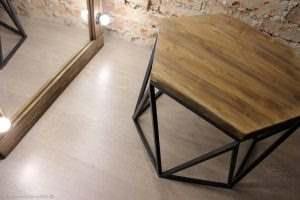 Журнальный столик лофт 11