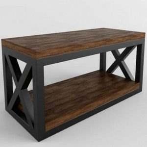 Журнальный столик лофт 12