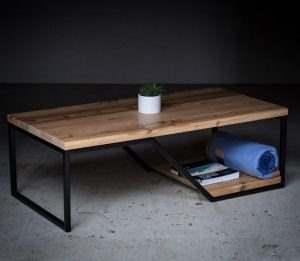 Журнальный столик лофт 7